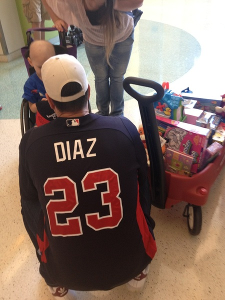 @diazfoundation meets with kids @childrensatl  #ChristmasinJuly