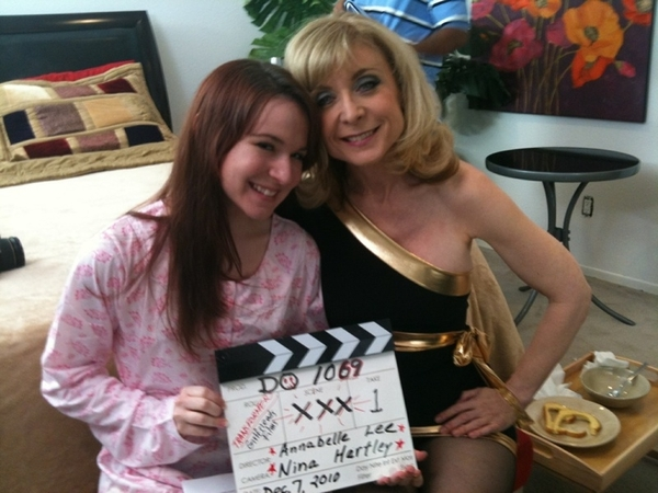"""@Ninaland takes @AnnaBelleLeeXXX under her wing in """"Transformations""""."""