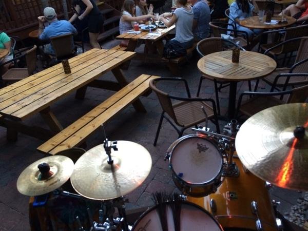 Tonight's #drumset: Minimalistic.