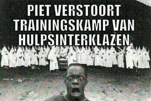 Piet verstoort training hulpsinterklazen.
