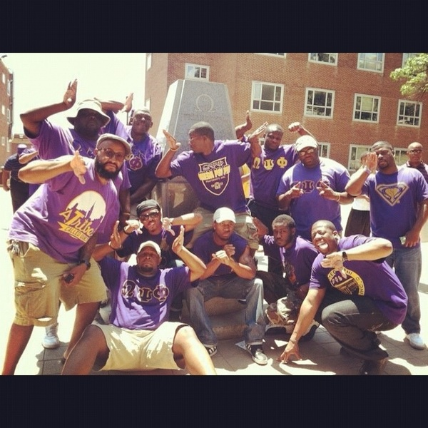 101 years strong....Real Men pledge QPsiPhi