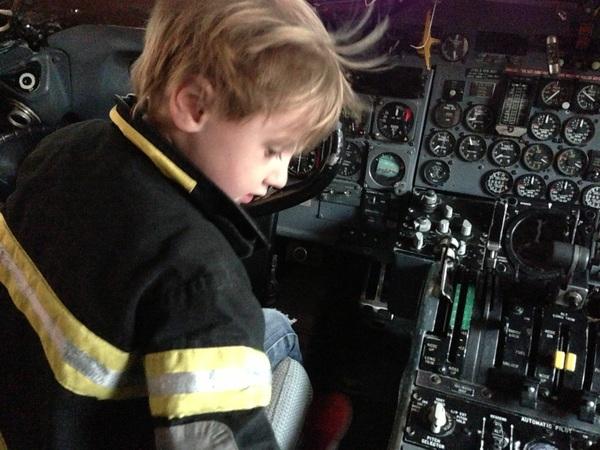 Fletcher of the Day: pre-flight check