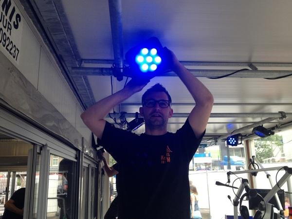 Licht? Check! #kermisfm