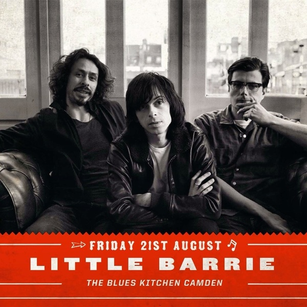 Nuff Said!  @TheBluesKitchen  @LittleBarrie #littlebarrie #theblueskitchen