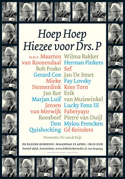 Line-up presentatie Compilé Complé: 23 april in de Kleine Komedie.