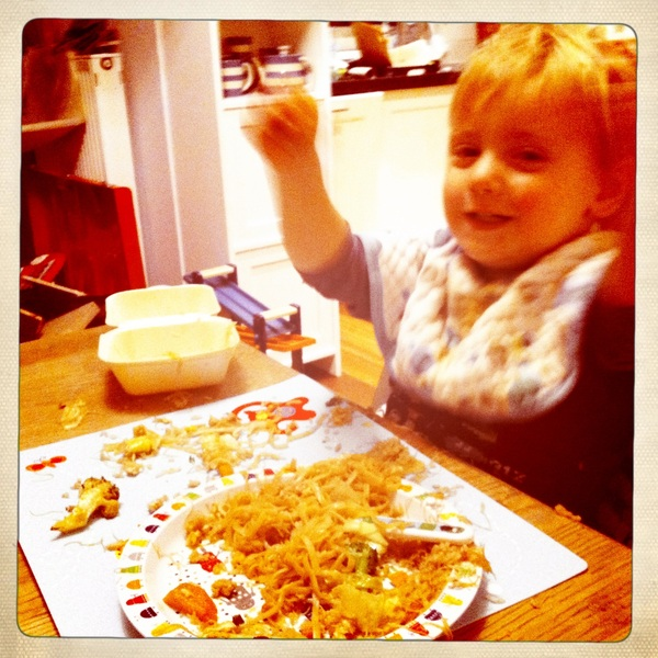 Fletcher of the day: Hurray for noodles!