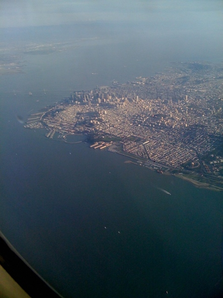 Last view of San Francisco, will be back for sure!