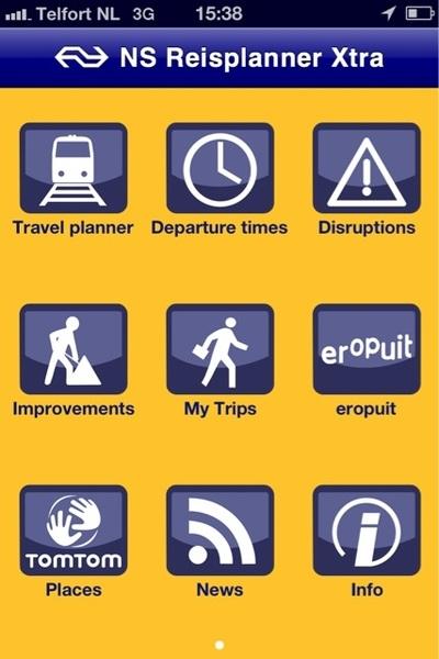 Fraaie nieuwe #ns #iphone #app! Veel overzichtelijker. Ben benieuwd! @ns_online