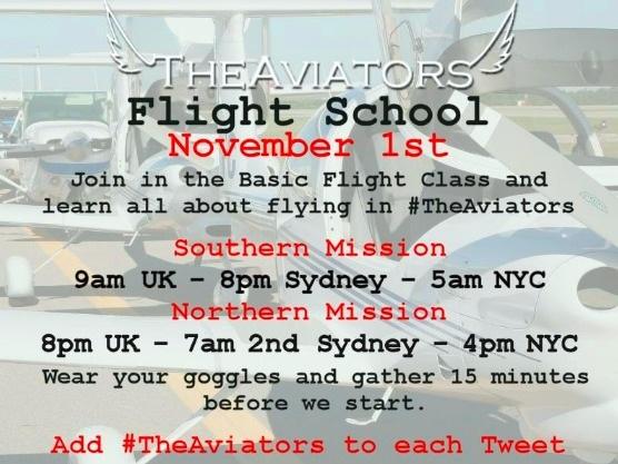 #TheAviators Basic Flight Training