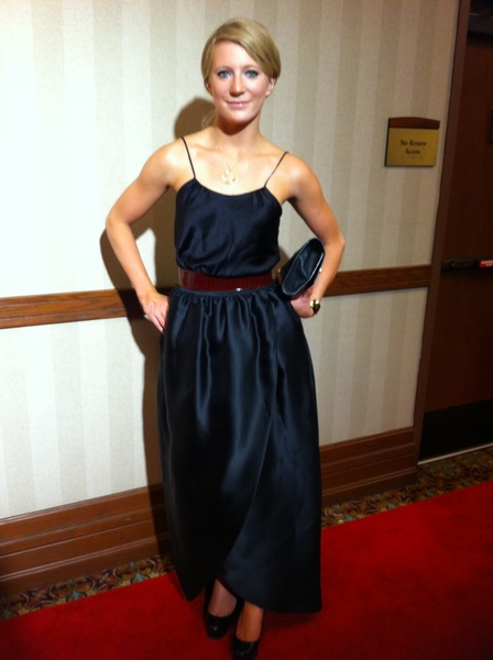 Ewa looking gorgeous in Siriano at the Julep Gala tonight!