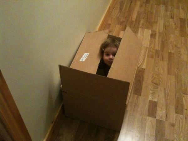 I'm hiding!