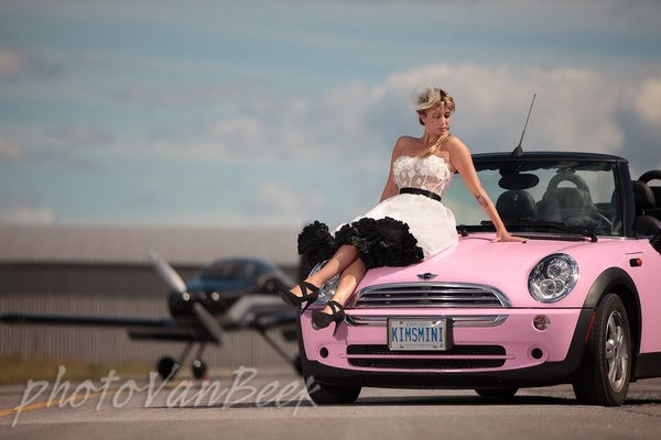 A Baby Pink Mini Cooper Convertible Why