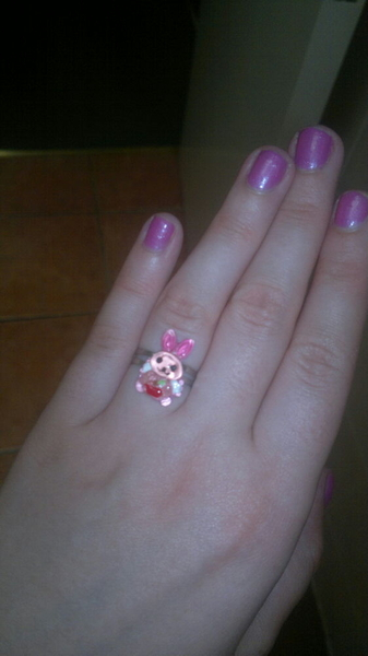 My ring from @T_Minshull :D hehe <3