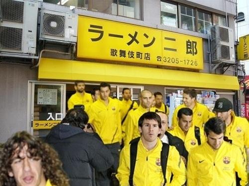 メッシもラーメン二郎大好き! #fb