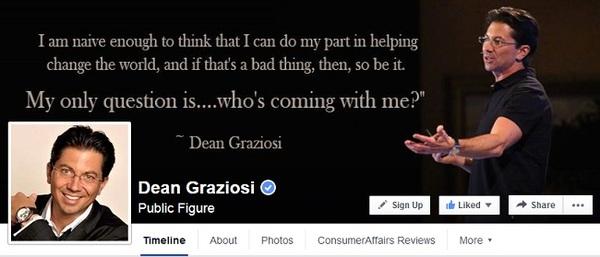 Dean Graziosi's Facebook Page