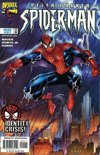 #SPIDERMAN #91 #identitycrisis