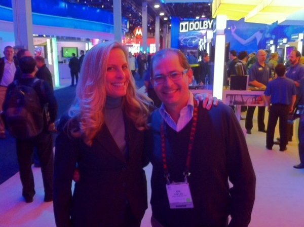 ABC TV Tech Reporter, Super Star Becky Worley at Intel #CES
