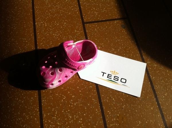 Afdeling gevonden voorwerpen van de Teso is zich goed!! #Texel