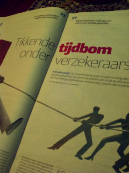 Webcare team Nationale Nederlanden belt: u heeft geen woekerpolis van ons! U heeft een traditionele kapitaal verzekering!