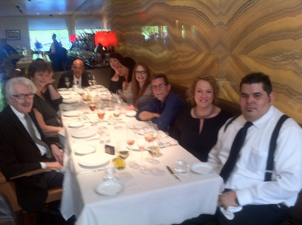 10 of the guiding-light staff from Topolobampo at stunningly great Marea before Beard Awards at Lincoln Center