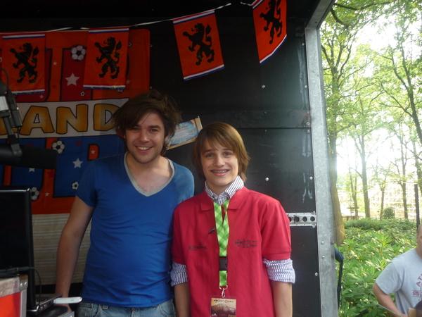 JA! Met Ralf Mackenbach op de foto!