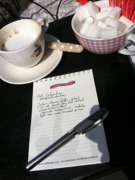 Aan de slag bij Julie's House #fiaf12 #Gentculitrip