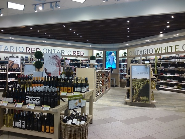 Beautiful showcase of #Ontario#wine at LCBO 252 Glendale. Lots to explore.