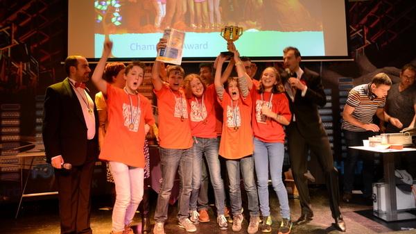 Vandaag won #rotaro , het team van @rodenborch #rosmalen , de regiofinale van #fll @firstbrabant in #tilburg