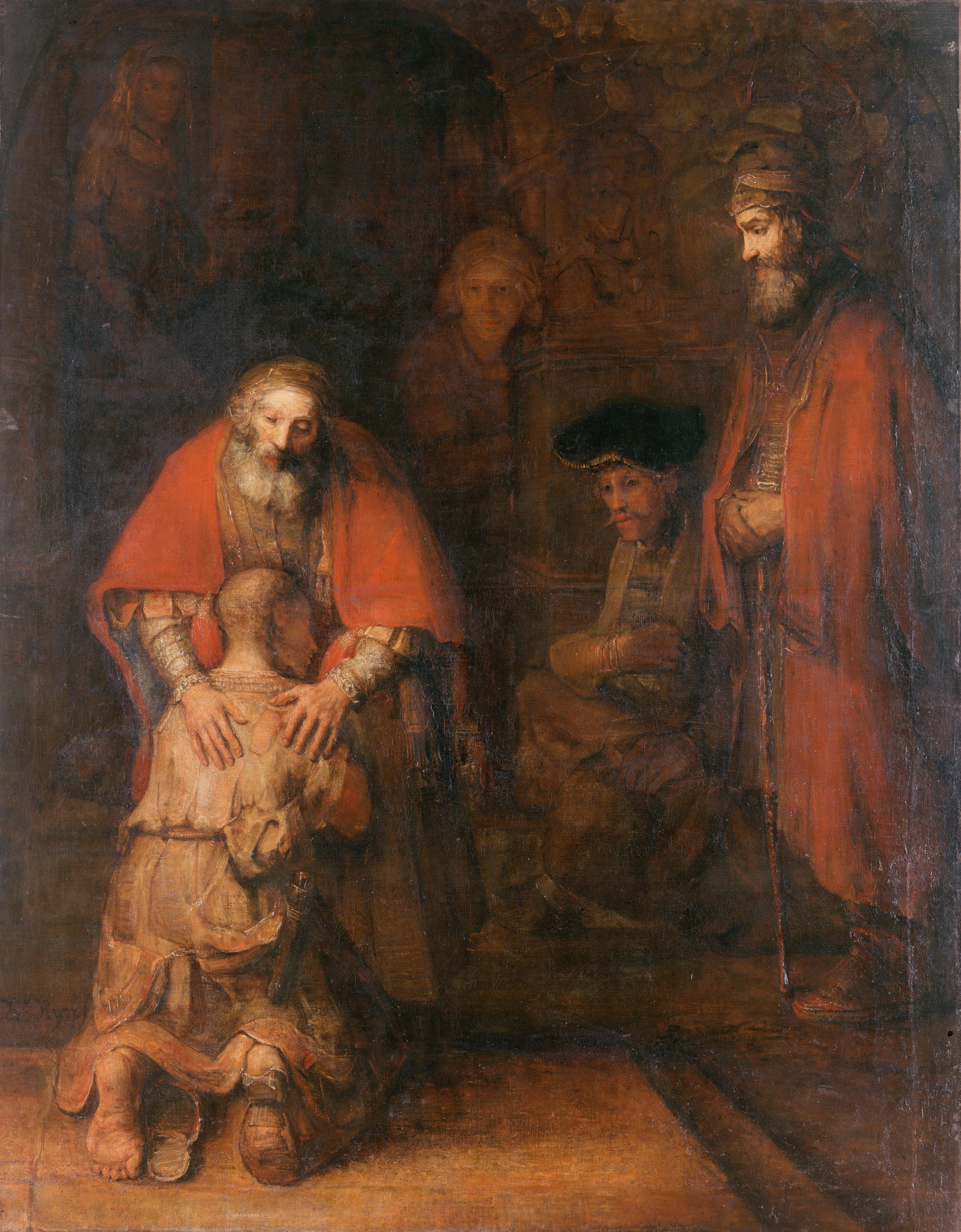 Rembrandt Harmenszoon van Rijn (1606-1669) - Powrót syna marnotrawnego