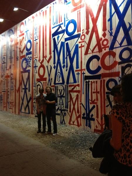 Always cool street art in NYC!!