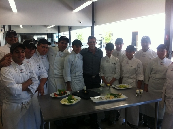 Culinary Arts School, Tijuana: student competition:best modern interp of Tijuana's orig Caesar salad.Amazing stuff