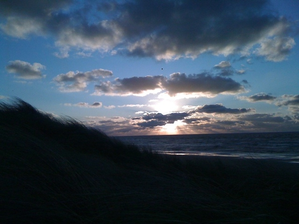 And another sunset at Bergen aan Zee