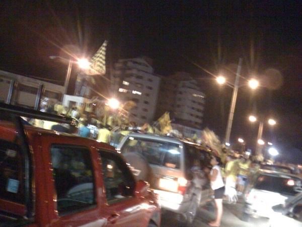 @Hincha_Amarillo Bahia de caraquez gran caravana
