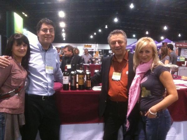 Julita Borko, Wine Baron, Fred Alonzi & Julita Chanas taste 4 of Fred's favorite Italians @ Tdot Wine & Cheese.