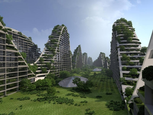 Wow! 2010 Hangzhou Green City by ONL @KasOosterhuis
