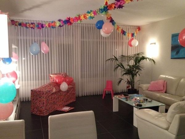 Klaar voor het feest morgen :-)