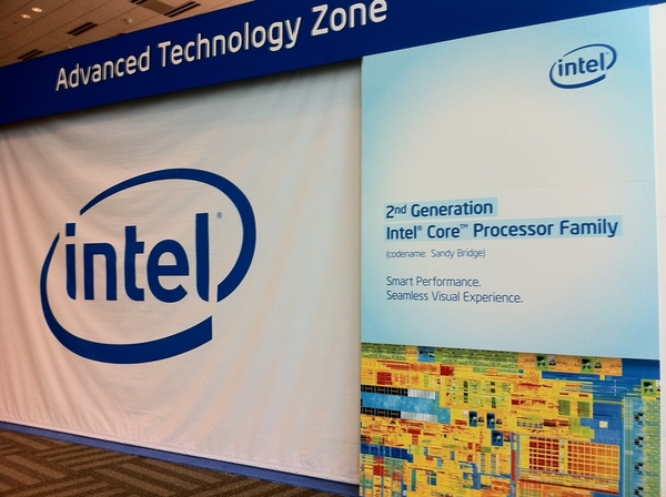 Intel Core 2nd Generation Getting Ready at #IDF10 Sandy Bridge