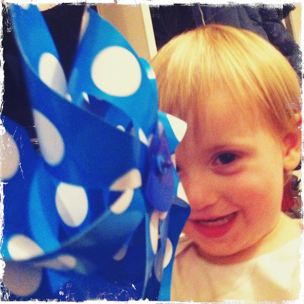 Fletcher of the day: polka dots