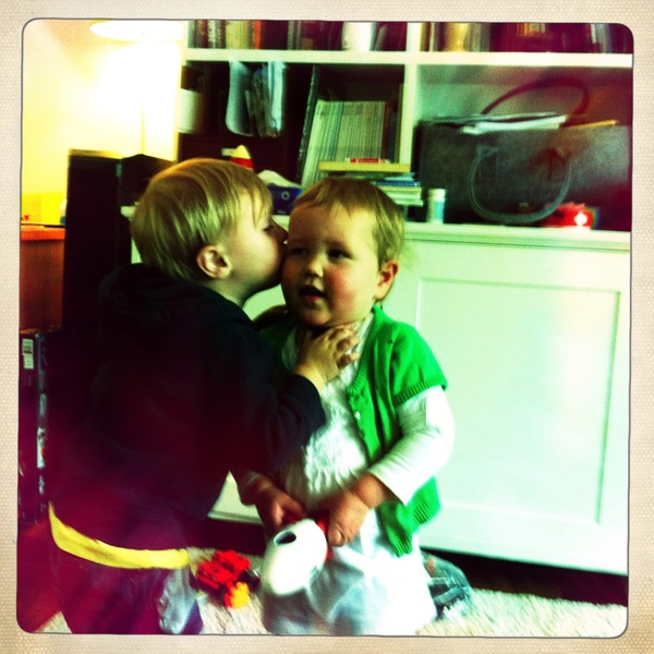 Fletcher of the day: kissing Sarah