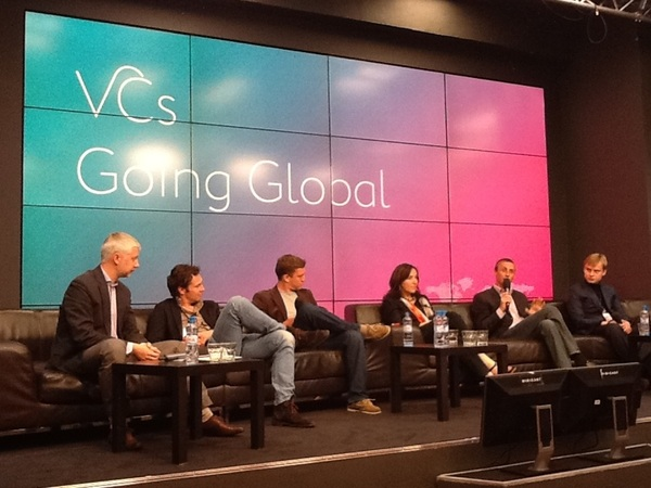 VC panel at The Art of Going Global #digitaloctober @drepin @SashJohn @jbreinlinger