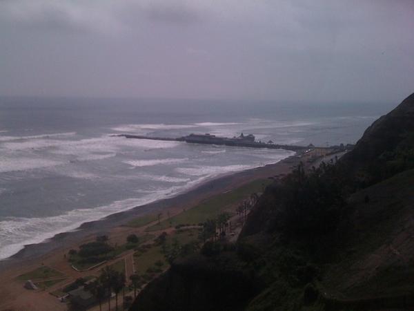 In Lima herrscht windiges Klima, herrliches Frühlingswetter #Lima #LP