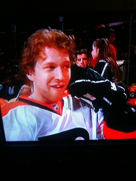 New Hockey Glove Phone