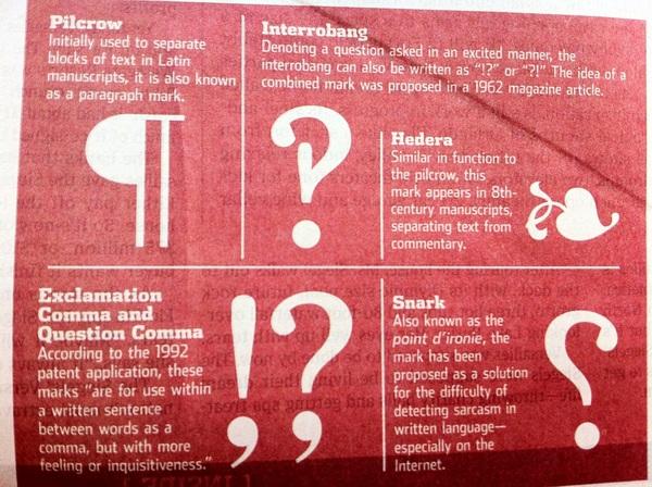 Interrobang Best New Punctuation?!