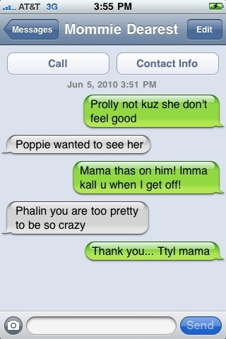 Even my mommie calls me krazy!