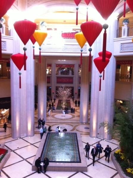 Passageway to picturesque Palazzo, Las Vegas #CES 2011