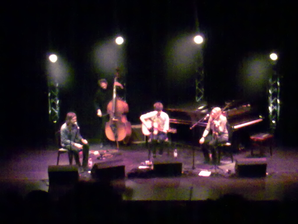 Roddy Woomble in sparkling form at @EdenCourt Cannot wait for the album. Brilliantly atmospheric venue too.