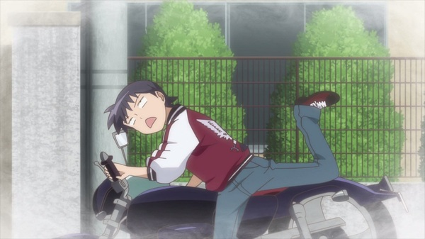 that has to be one of the lamest injuries I've ever seen. #anime