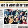 Goedemorgen @meijerevelien en @aimeegroot! De ringen en #nomudnoglory mutsen staan in de krant hoor!