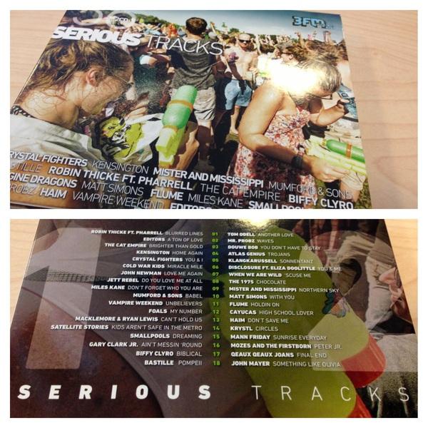 Ha, lekker! De nieuwe #3FM-verzamelaar ('Serious Tracks') is uit: