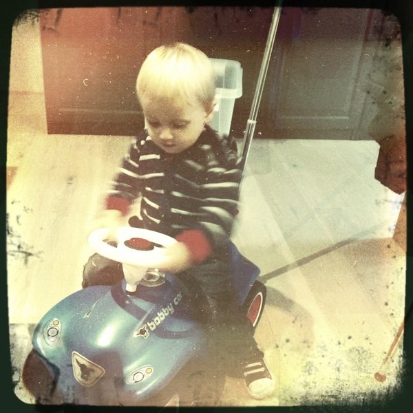 Fletcher of the day: Mateo's ride
